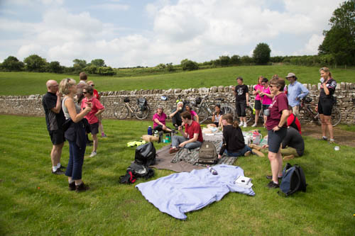 Picnic at the Roman Ruins ride, June 2014