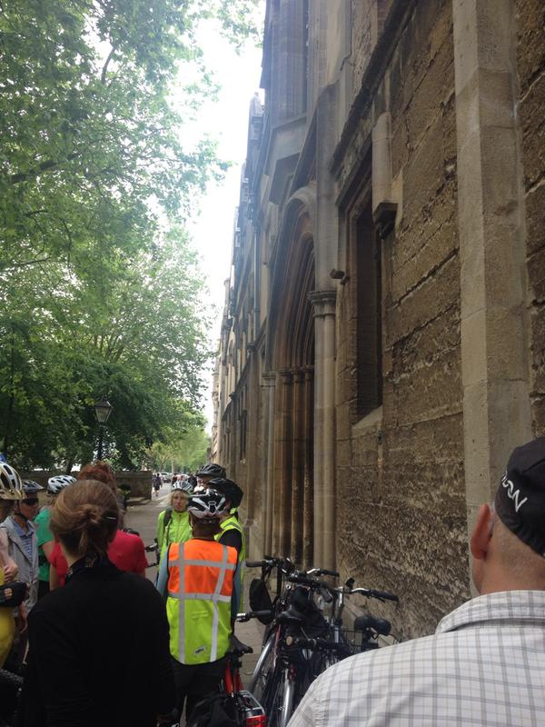 World War One bike ride, 17 June 2015 (1)