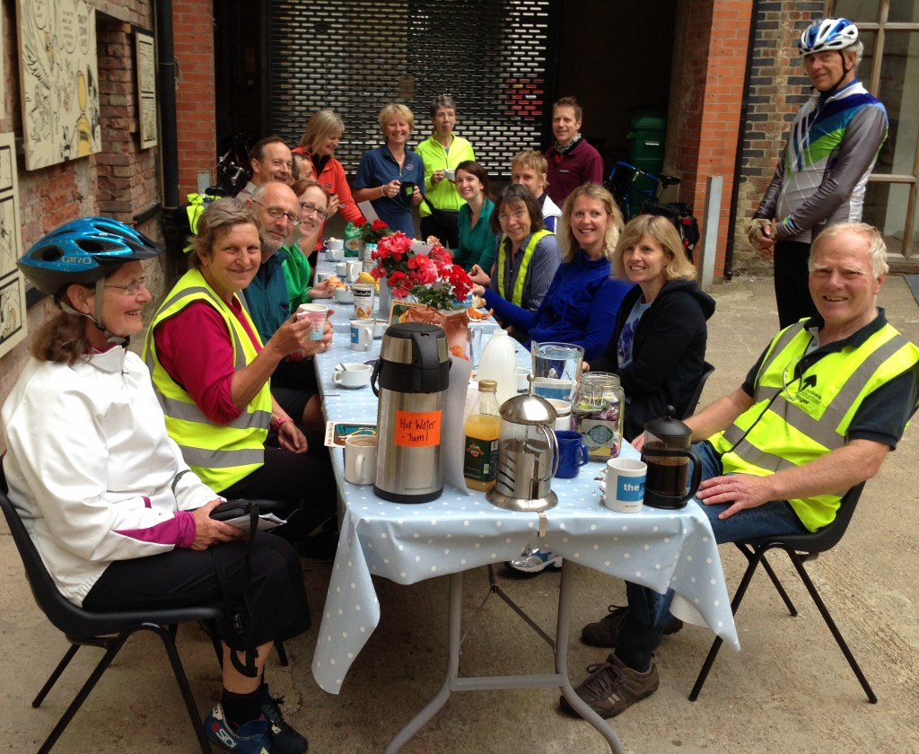 Almost the Solstice Ride, June 2014