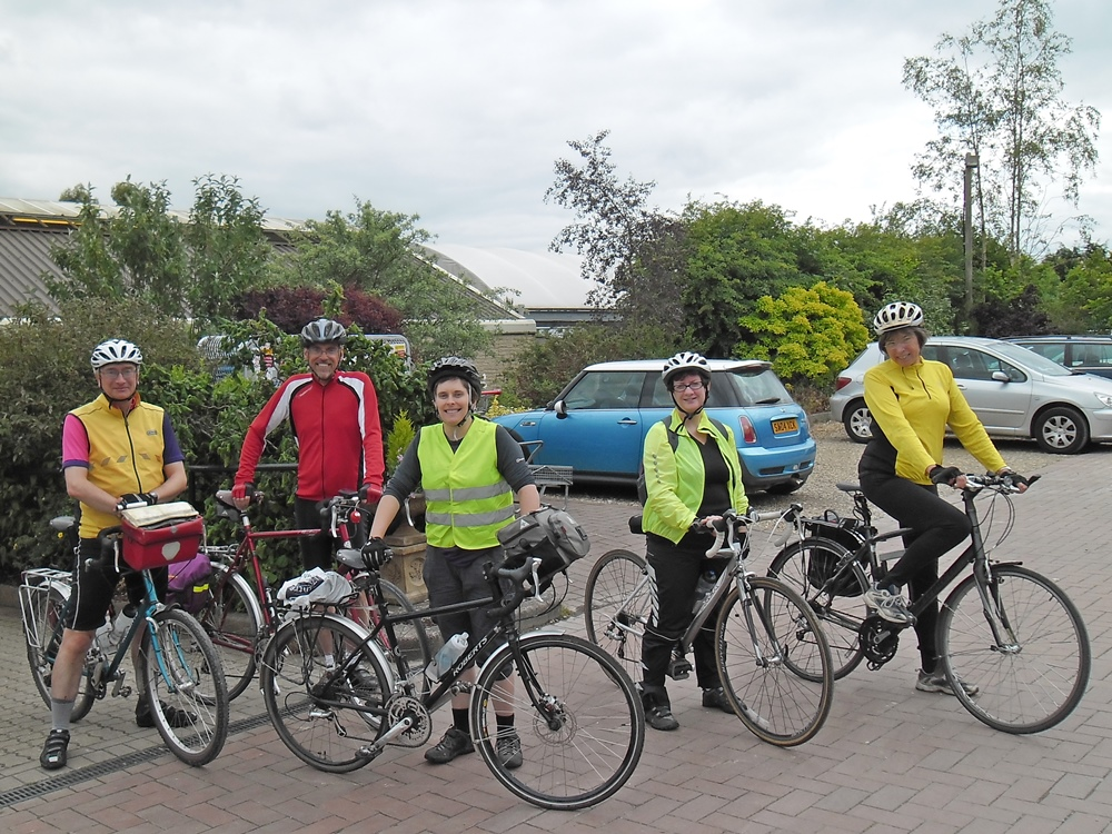 CTC Oxford Ride, 14 June 2015: Ramsden after lunch